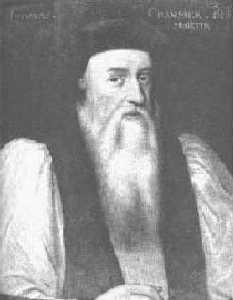 Adam Sparks does not really look like Thomas Cranmer